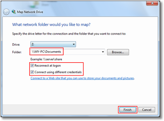 Step-by-step guide how to set up SMB file sharing in Windows 7