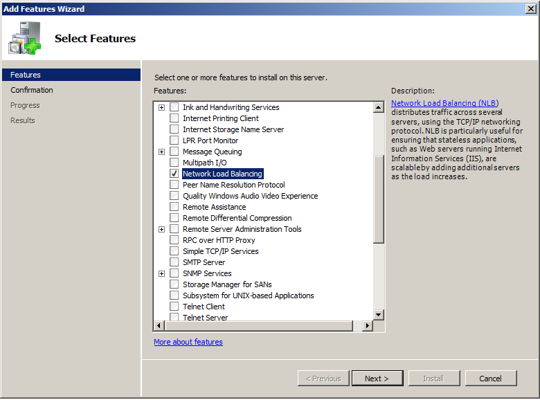 How to set up a Microsoft Network Load Balancing (NLB) in