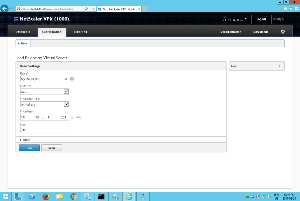 citrix netscaler add virtual server